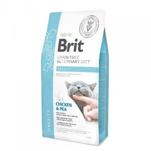 Brit Veterinary Diet Cat Grain Free Obesity - беззерновая диета при избыточном весе и ожирении кошек
