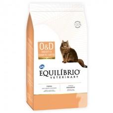 Equilíbrio Veterinary Obesity & Diabetic Cat (O/D) - лечебный корм для котов страдающих от ожирения