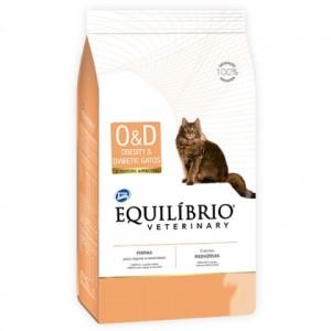 Equilíbrio Veterinary Obesity and Diabetic Cat (O/D) - лечебный корм для котов страдающих от ожирения