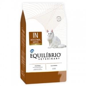 Equilíbrio Veterinary Intestinal Cat (IN) - лечебный корм для котов с заболеваниями желудочно–кишечного тракта