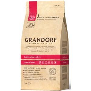 Grandorf (Грандорф) Lamb & Rice ADULT INDOOR ягненок с рисом для взрослых кошек