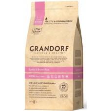 Grandorf Lamb & Rice KITTEN - корм для котят с ягнёнок и рисом