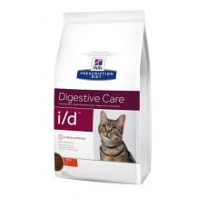 Hill's Prescription Diet Feline I/D здоровье пищеварительного тракта кошки