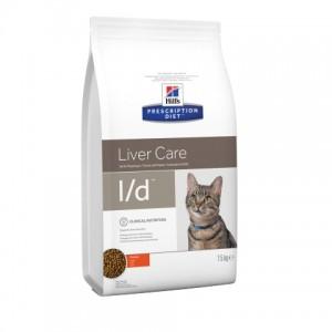 Hill's PD Feline L/D  - заболевания и/или снижением функций печени