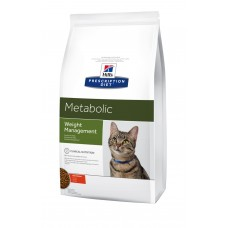 Hills Prescription Diet Metabolic Feline ожирение, лишний вес
