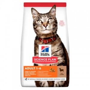Сухой корм Hill's Science Plan Feline Adult Optimal Care Lamb корм для взрослых кошек с ягненком | Petplus