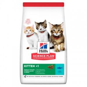 Сухой корм Hill's Science Plan Kitten Tuna для котят, с тунцом