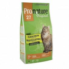 Pronature Original Classic Recipe Chicken Formula Senior - сухой супер премиум корм для пожилых и малоактивных котов