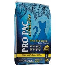 Pro Pac Deep Sea Select Indoor Formula - сухой беззерновой корм для кошек и котят