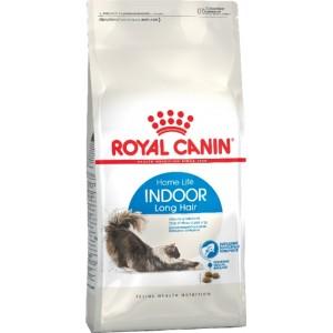 Royal Canin Indoor Longhair ☆ (для длинношерстных кошек постоянно живущих в помещении)