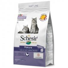 Schesir Cat Mature - сухой монопротеиновый корм для пожилых кошек
