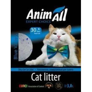 AnimАll (Энимал) наполнитель силикагель ''Голубая долина'' для котов