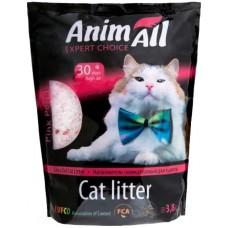 """AnimАll (Энимал) наполнитель силикагель """"Розовый лепесток"""" для котов"""