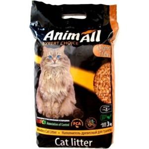 AnimAll «Энималл» наполнитель древесный для котов