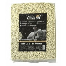 AnimAll Tofu Cat Litter Natural - наполнитель соевый классический