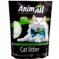 """AnimАll (Энимал) наполнитель силикагель """"Кристаллы изумруда"""" для котов"""