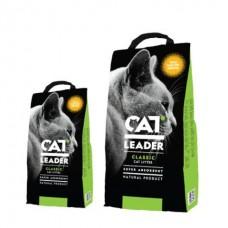 CAT LEADER ( Кэт Лидер) с WILD NATURE  супер-впитывающий наполнитель в кошачий туалет