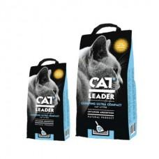CAT LEADER (Кэт Лидер) с WILD NATURE  ультра-комкующийся наполнитель в кошачий туалет