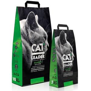 CAT LEADER (Кэт Лидер) супер-впитывающий наполнитель в кошачий туалет