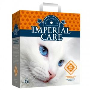 IMPERIAL CARE( Империал )  SILVER IONS ультра-комкующийся наполнитель в кошачий туалет