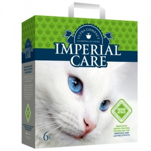 IMPERIAL CARE «ИМПЕРИАЛ» ODOUR ATTACK Ультра-комкующийся наполнитель с ароматом летнего сада в кошачий туалет