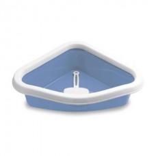 Stefanplast Sprint Corner - угловой туалет для кошек, (40*56*14см)