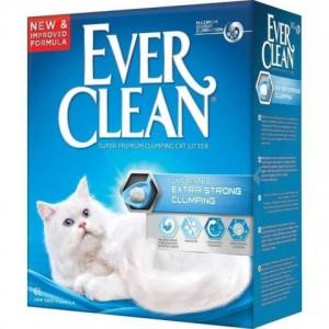 Ever Clean (Эвер Клин) Extra Strong Clumping Unscented - наполнитель комкующийся для туалета кошек без ароматизатора