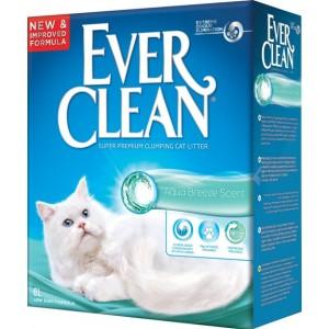 """Ever Clean (Эвер Клин) Aqua Breeze Scent - наполнитель комкующийся для туалета кошек с ароматом """"Морского бриза"""""""