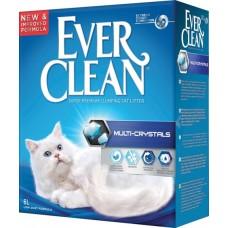 Ever Clean Multi Crystals - наполнитель комкующийся для туалета кошек с гранулами силикагеля