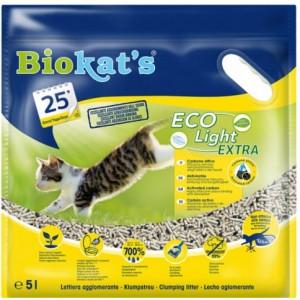 Наполнитель соевый для туалета кошек (тофу): «Biokat's Eco Light Extra» из натуральных растительных волокон | С активированным углем: Биокетс Тофу Джимборн Эко Лайт Экстра | Petplus