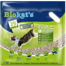 Biokat's Eco Light Tofu - наполнитель соевый для кошачьего туалета с нежным ароматом хлопка