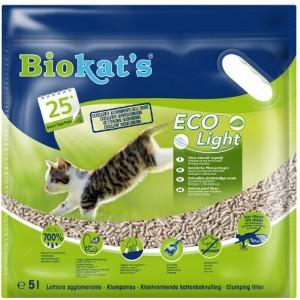Наполнитель соевый для туалета кошек (тофу): «Biokat's Eco Light» из натуральных растительных волокон | Эффективный и экономичный наполнитель: Биокетс Тофу Джимборн Эко Лайт | Petplus