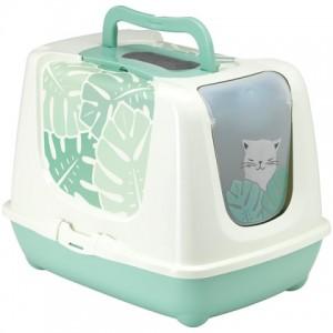 Moderna Trendy Cat Eden - закрытый туалет для котов c угольным фильтром и совком