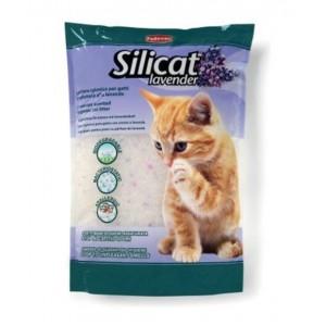 Padovan Silicat Lavender Crystal - наполнитель силикагель для кошачьих туалетов