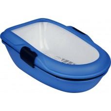 Trixie Berto Litter Tray - туалет для кота с сеткой и поддоном (59*39*22 см.)
