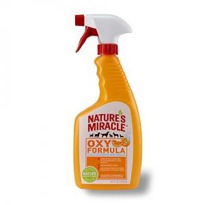 Nature's Miracle Oxy Pet Stain & Odor Remover - универсальный уничтожитель пятен и запахов