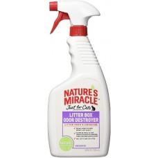 Nature's Miracle Just for Cats Litter Box Odor Destroyer - средство для устранения запаха кошачьего туалета