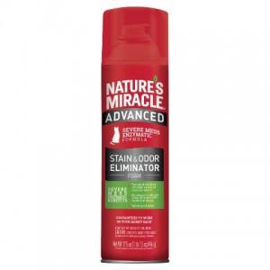 Natures Miracle(Нейчерлз Миракл) Advanced Formula - устранитель пятен и запахов с усиленной формулой для кошек / аэрозоль-пена