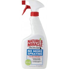 Natures Miracle Just For Cats No More Spraying Stain&Odor Remover - средство антигадин для кошек / спрей