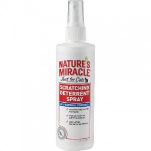 Natures Miracle Scratching Deterrent Spray - средство для котов, предотвращающее царапанье предметов обихода