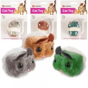 ИщЕм игрушки для котов? «Flamingo Plush Mouse Shakin` Jerry» - удовольствие для вашего котика: инстинкт охотника | Petplus