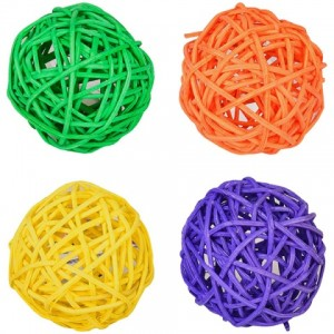 Заинтересуй своего питомца новой игрушкой «Flamingo Alex Ball» - мяч сплетен из натурального ротанга и окрашен безопасными пищевыми красителями: Читать далее!