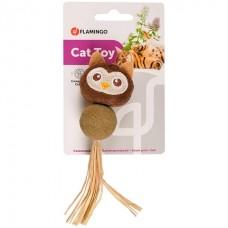 Flamingo Catnip Owl - игрушка с кошачьей мятой для котов