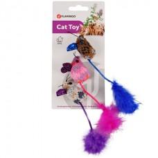 Flamingo Mohaire Mouse Glamour - игрушка с кошачьей мятой для котов