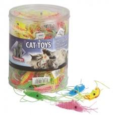 Flamingo Plastic Shrimp - игрушка для котов (креветка)