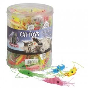 ИщЕтеигрушки для котов? «Flamingo Plastic Shrimp» - удовольствие для вашего котика: инстинкт охотника | Petplus
