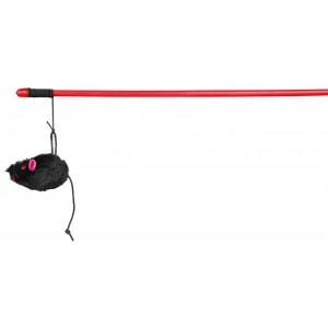 Trixie Playing Rod with Mouse - мышка на удочке для кошек