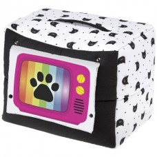 Ferplast TV Cat House - мягкий хлопковый домик для кошек (44 x 32 x 35 cm)