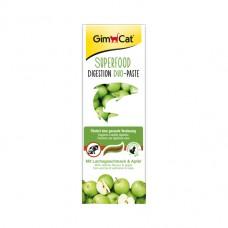 GimCat  Duo Superfood Digestion - паста для пищеварения с лососем и яблоками