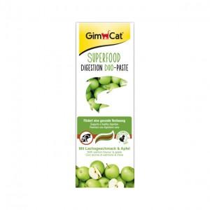 GimCat  Duo Superfood Digestion паста для пищеварения с лососем и яблоками